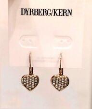 Dyrberg/Kern Damen-Ohrhänger Vergoldetes Metall Kristall, 335436