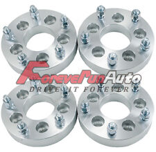 """4PC 1.25'' 5x4.5 to 5x5.5 Wheel Spacers Adapters 1/2""""x20 Studs for Lincoln Ford"""