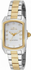 Invicta Lupah 16285 Women's White Analog Tonneau Stainless Steel Watch
