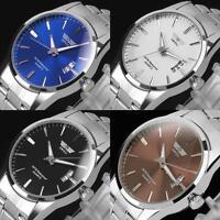 Luxury Business Sport Men's Stainless Steel Fashion Quartz Army Wrist Watches MT