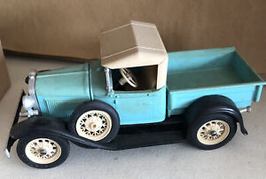 Vintage Hubley Model A FORD PICKUP Classic Car Metal Model ADULT Built From Kit