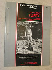 1988 TROY-BILT TUFFY ROTO TILLER-POWER COMPOSTER OWNER'S MANUAL