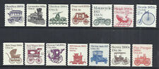 US, #1897-1908 First Transportation series, 14 stamps, MNH
