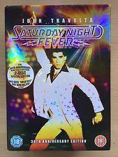 John Travolta SATURDAY NIGHT FEVER ~ Uncut 2-Disc Spec Ed UK DVD w/ slipcover