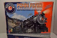 LIONEL PENN FLYER FREIGHT TRAIN SET 6-30174 REAL DIE CAST STEAM ENGINE