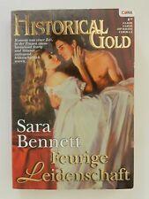 Sara Bennett Feurige Leidenschaft Historical Gold Cora Historischer Liebesroman