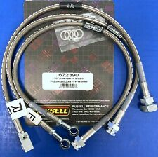 Russell 672390 Stainless Brake Hose Kit 1991-99 Chevy S-10 Pick Up Blazer 4WD