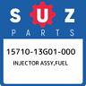 15710-13G01-000 Suzuki Injector assy,fuel 1571013G01000, New Genuine OEM Part
