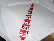 Christmas/Winter Novelty Tie, Polar Bear/Penguins, YuleTie Greetings by Hallmark