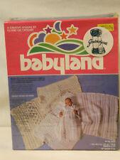 Nib 1977 Yarn Kits Inc Babyland Knit or Crochet Kit # 4950 - Still Sealed