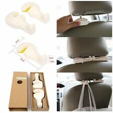 4pcs Vehicle Universal Car Back Seat Headrest Hanger Holder Hook for Bag Purse