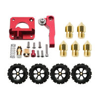 Extruder Upgrade Kit + 4X Leveling Nuts + 5X 0.4mm Nozzles For Creality Ender 3