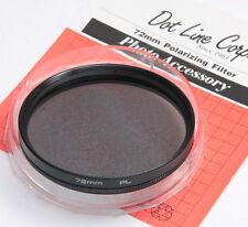 72mm PL Polarizer Photo Filter for Camera Lens Eitar ET-1672 Clamshell - NEW G7