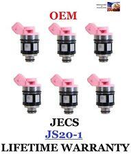 OEM JECS Set of 6 Fuel Injectors For Nissan Pathfinder Pick Up D21 Quest 3.0L
