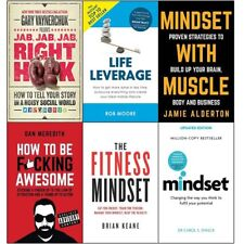 Right hook life leverage mindset with muscle how to be 6 books collection PB NEW