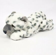 "Aurora 12"" Snow Leopard Cub Floppy Plush Stuffed Realistic Science Classroom"