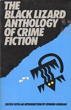 Black Lizard Anthology Of Crime Fiction By Edward Gorman Black Lizard Tp 1987