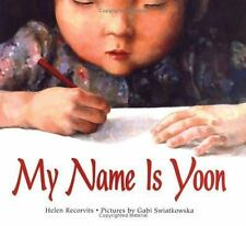 My Name Is Yoon (Ezra Jack Keats New Illustrator Award, 2004)-ExLibrary