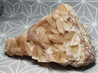 Calcit Kalzit schöne Stufe Riesengebirge 90 x 62 x 55 mm Mineralien Minerals