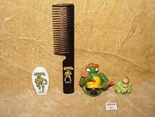ULTRA RARE TEENAGE MUTANT NINJA TURTLES 4 PIECE BATHROOM SET - MIRAGE 1990 TMNT