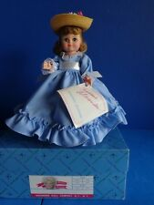 """8"""" MADAME ALEXANDER """"BETTY BLUE"""" DOLL- MAGGIE FACE  1987"""