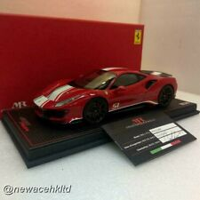 Ferrari 488 Pista Piloti Rosso Corsa MR COLLECTION 1/18 #FE025PPA