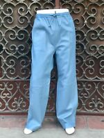 Men's Sean John Baby Blue 100% Baby Lamb Genuine Leather Pants