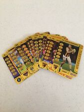 2018 AFL TEAMCOACH GOLD FOOTY CARDS 2 FOR $1