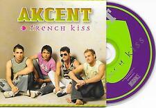 AKCENT - French kiss CD SINGLE 4TR Enh Eurodance 2006 DUTCH CARDSLEEVE