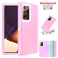Case For Samsung S21 Note20 Ultra Note10 Plus Clear Hybrid Slim Shockproof Cover