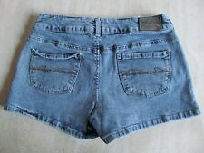 "SILVER JEANS ""Matrix Short"" Size 29 Womens Stonewash Faded Denim Jean Shorts EUC"
