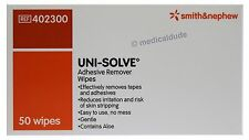 Smith & Nephew UNI-SOLVE Gentle No Mess Adhesive Remover Wipes Qty 50
