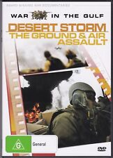 War in The Gulf - Desert Storm Ground & Air Assault DVD Documentary as