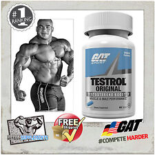 GAT Testrol Test Booster Muscle Libido Increaser 60 Tablets