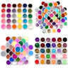 30/48/80 Color FINE GLITTER DUST POWDER NAIL ART DECORATION For ACRYLIC UV TIPS
