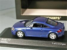 MINICHAMPS 1:43 - AUDI TT Blue metallic - Paul's Model Art 1/43 NEW & BOX RaRe