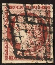 France 1849, Yv. 6b used Fine ( small corner crease)