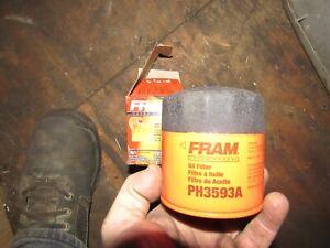 New Fram PH3593A Oil Filter