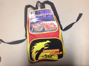Disney Cars Camping 2 piece set Sleeping Bag With Carry Backpack