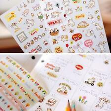 6pcs Lovely Cute Scrapbooking Memo Diary Cat Stickers Decoration