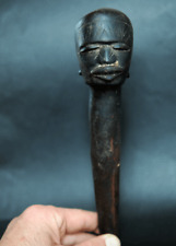 Perfect old powerful Makonde stopper from Tanzania tribal art african africain