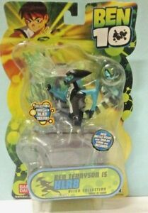 Ben 10 XLR8 Battle Pose Collection Bandai 4 inch Tall