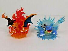 Charizard & Blastoise EX - Pokemon Red/Blue 20th Anniversary Collection Figures