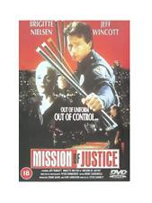 MISSION OF JUSTICE (1992) Jeff Wincott / Brigitte Nielsen (UK R2 DVD)