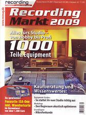 Recording Markt - Alles fürs Musikstudio 1000 Teile Equipment Mikrofonkunde