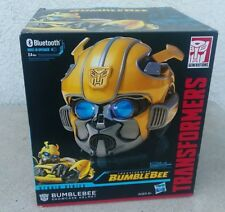 Transformers Studio Series Movie Bumblebee Showcase Helmet Bluetooth Speaker MIB