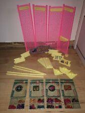 1970-1980 Mattel Skipper Boutique Plastic & Cardboard Pieces Excel Cond