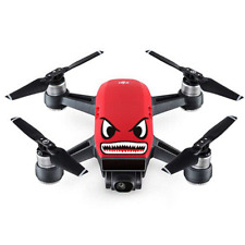 DJI SPARK  STICKER DECALCO WATERPOOF ANTI SCRATCH SKIN BLACK EYES