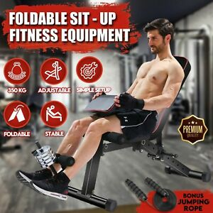 Home Gym Fitness Dumbbell Sit-up Sit up Bench Exercise Leg Curl Extension
