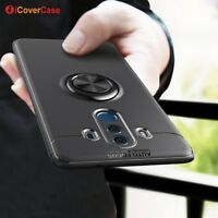 For Huawei Mate 10 Pro Lite Shockproof Silicone TPU Ring Stand Case Cover